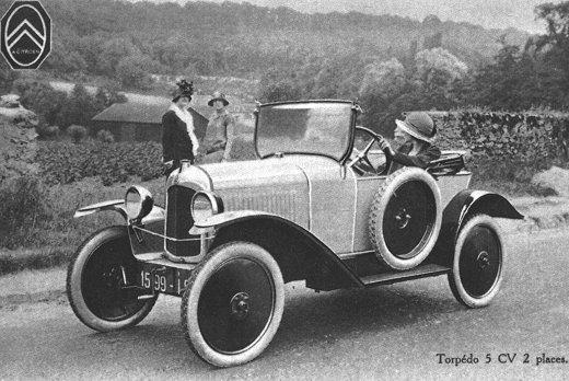 5 HP Torpédo - 2 places de 1923