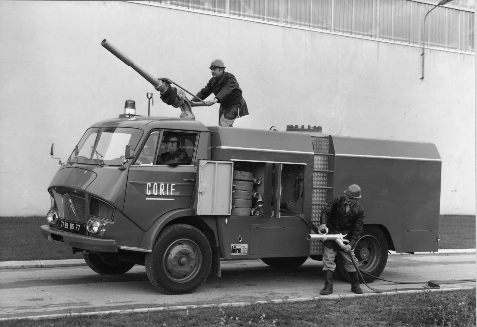 Camion type 350 Incendie - 1967